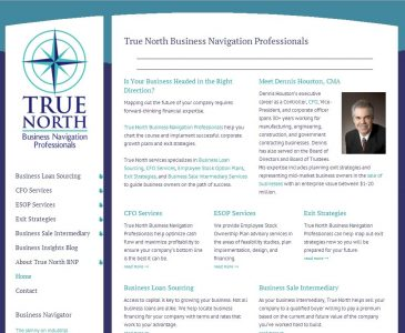 True North Business Navigation Professionals Website