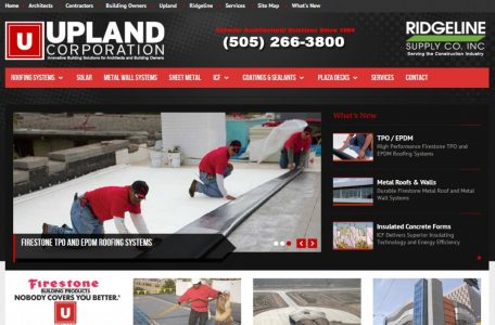 Upland Corporation Website